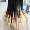 梳きすぎた髪の毛
