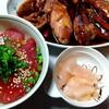 No.261 焼き肉弁当と生マグロ