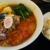 似星 海老出汁×豚骨スープに ガーリックトマト、チーズバジルで イタリアンな雰囲気と海老チーズ飯付き 中村橋