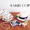 鞄の中身公開!夏はコンパクト&シンプルで身軽に出掛けよう
