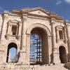 ヨルダン北部にあるジェラシュ遺跡