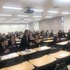 教員・職員参加の全体方針共有会。