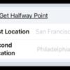 Get Halfway Point