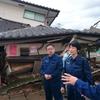 日本共産党の小池晃、紙智子参院議員 被災地へ
