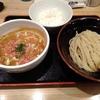麺屋 睡蓮(文京区湯島)の海老みそつけ(限定)と半ライス