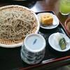 綾瀬【胡桃】つけ胡桃たれそば ¥950 (大盛+¥200)