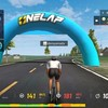 onelapその79 Easy Riding & Moving 1km Battle