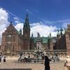 デンマーク*2018*コペンハーゲン~郊外ヒレロズ・湖に浮かぶフレデリクスボー城①~