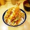 天丼 てんや  天ぷらは特注の植物油でコレステロール0・ビタミンE含み・軽い風味のサクサク感に