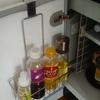 【小さいキッチン収納】のアイデア コンロ下は食品庫に作戦
