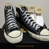 CONVERSE LEATHER ALL STAR HI BLACK & This is... / All-Cotton ATHLETIC SHOELACES