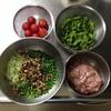 枝豆餃子とプチトマ餃子を作ってみたよ