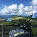 バイクのある景色
