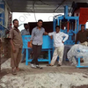 How much does it cost to buy a cement brick machine? Price is not expensive?