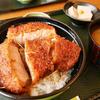【長野県伊那市】ツーリング途中、青い塔でソースかつ丼。ロースの脂がおいしい