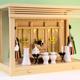 シンプルでキレのあるガラス箱宮三社の祭り例 筋幕聖シリーズ