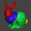 Blenderで頂点カラーをテクスチャに変換する方法