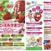千葉 八千代市 道の駅「やちよ 」いちご&ミルクまつりを3月17日(日)開催