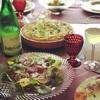 不定期お料理教室〜ツヴィーベルクーヘンZwiebelkuchen〜ラディッシュと生ハムのサラダ