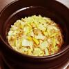 淡竹とシーチキンの炊き込み御飯