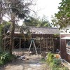 納屋の修繕