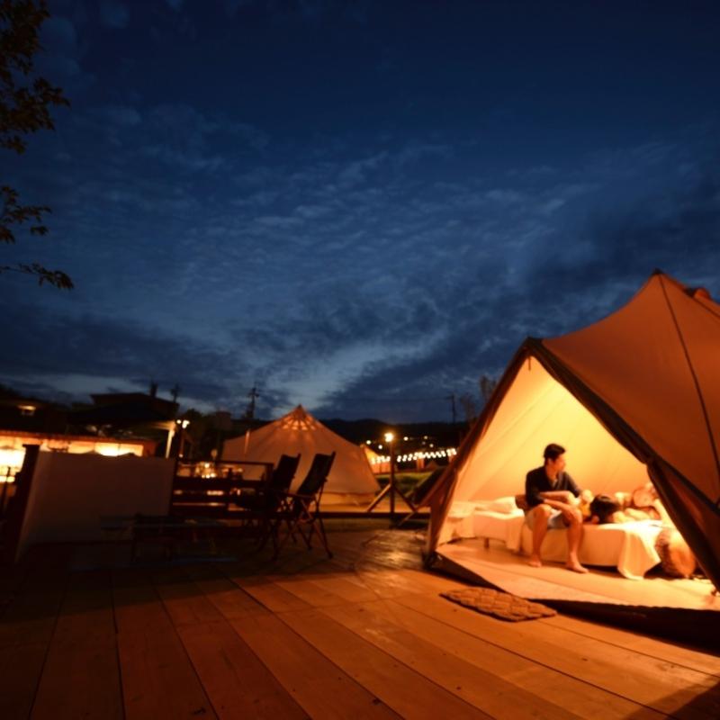 夏休みに行きたい!2018夏 注目の京都グランピング&キャンプ施設