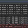 testcontainersで使い捨てのデータベースコンテナを用意してSpring Bootアプリケーションのテストをおこなう