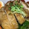 お昼は、昨日に引き続きオーブンを使って「鶏もも肉のグリル」