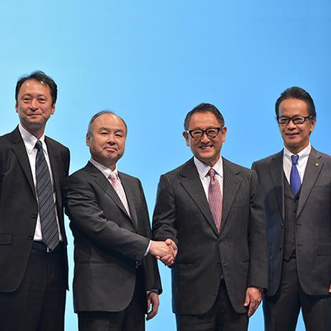 新しいモビリティー社会の実現へ。ソフトバンクとトヨタ自動車の共同記者会見 速報レポート