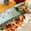 鯖の塩焼きと梅しそこぶにゃんおろし(浦里)