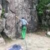 雑穀谷岩登り訓練~其の二~