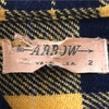 529 ビンテージ ARROW ウールチェックシャツ 40's