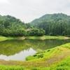 鬼面川貯水池(山形県米沢)