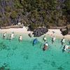 【4ヵ月で8便】マニラから観光客を乗せた飛行機 / パラワン島
