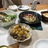 IKEAぐるぐるとオリーブオイルに頼る食卓。