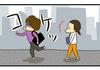 【4コマ】最近のおなか観察日記