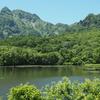 初夏の長野旅行:念願の鏡湖!でもこの日は風が強くて…