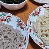 7月5日(日)昼食のそば&うどんと、東京都知事選挙。