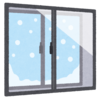 窓サッシレールにカビが付いていたので中性洗剤と雑巾で多少キレイになった