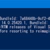 VisualStudioUninstallerを使ってVisual Studio 2015をアンインストールしてみた