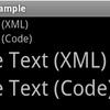 TextViewのテキストサイズ指定