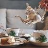 【ヘレンドのアポニーグリーン】高級食器で紅茶が飲める都内のカフェ・ルポポ。