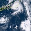 """【TOCANA】【緊急警告】「トリプル台風」の後にM5以上の巨大地震が来る!? """"進路と震源地""""の関係を発見、前例多数!"""