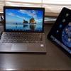 VAIOとiPad Proのデュアルディスプレイ