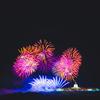 10月1日パラオ独立記念日の花火を遠くから見てきた