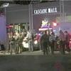米のショッピングモールで銃撃、4人死亡
