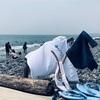 千本浜で海水浴!海見えでおいしいご飯屋も!(犬の四十九日)