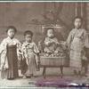 古い記念写真の修復+色再現(カラー化)