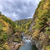 【札幌の紅葉】定山渓の「二見吊橋」の紅葉の見ごろは10月中旬〜下旬頃