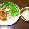 今日の夕食 カレー